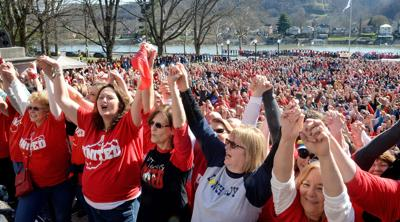A look back at the 2018 WV public school employees strike