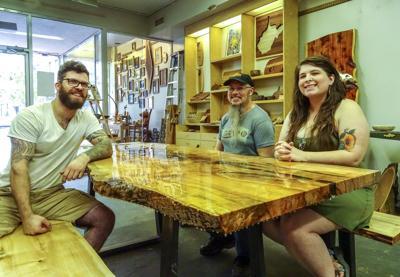 Woodworking shop Black Locust