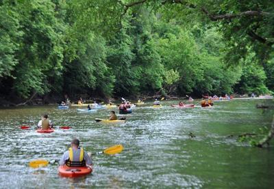 Coal River community float celebrates importance of WV's waterways