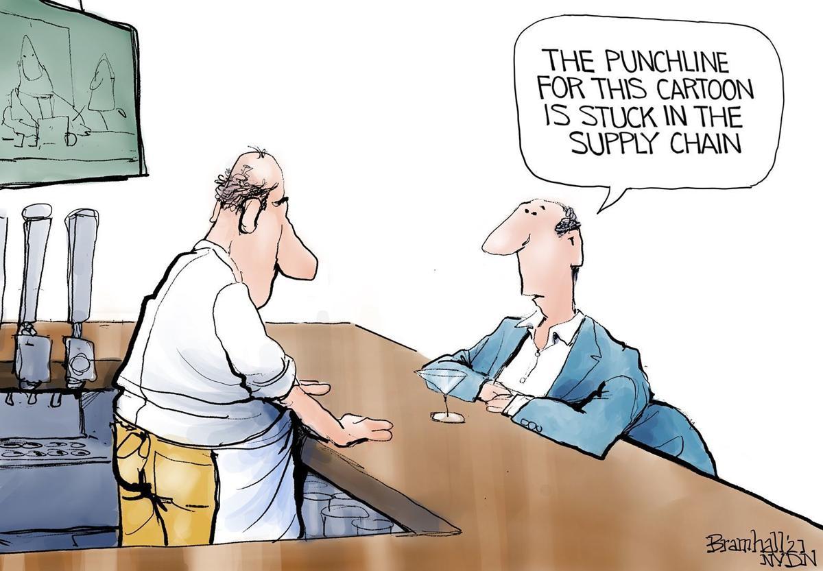 Gazette-Mail cartoon: October 26, 2021