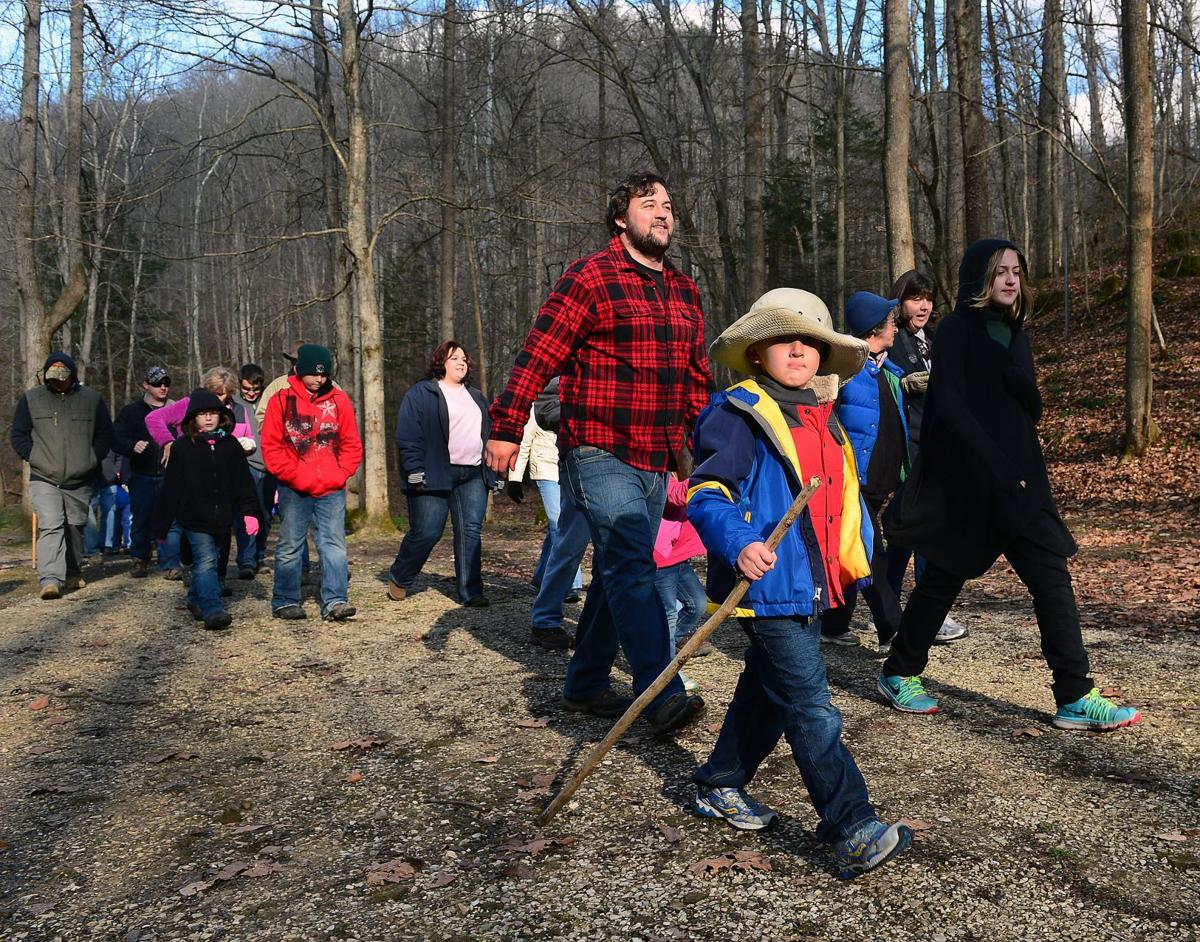 Photos: Kanawha State Forest hosts 'First Day' hikers
