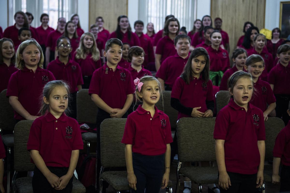 Appalchian Children's Chorus paying tribute to B.E. Taylor
