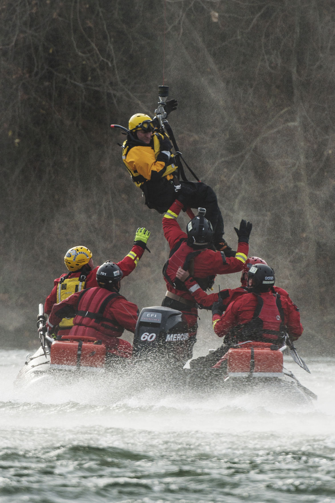 WV National Guard, fire departments unite for swift water ...  |National Guard Water Rescue