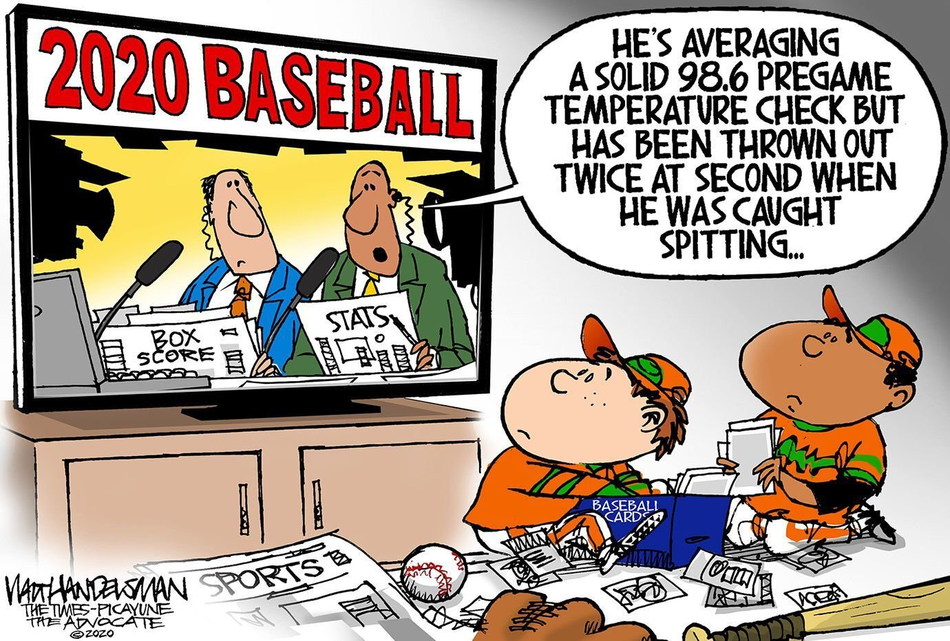 Think Toon by Walt Handelsman