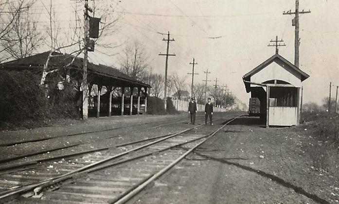 Streetcar Station Camden Park