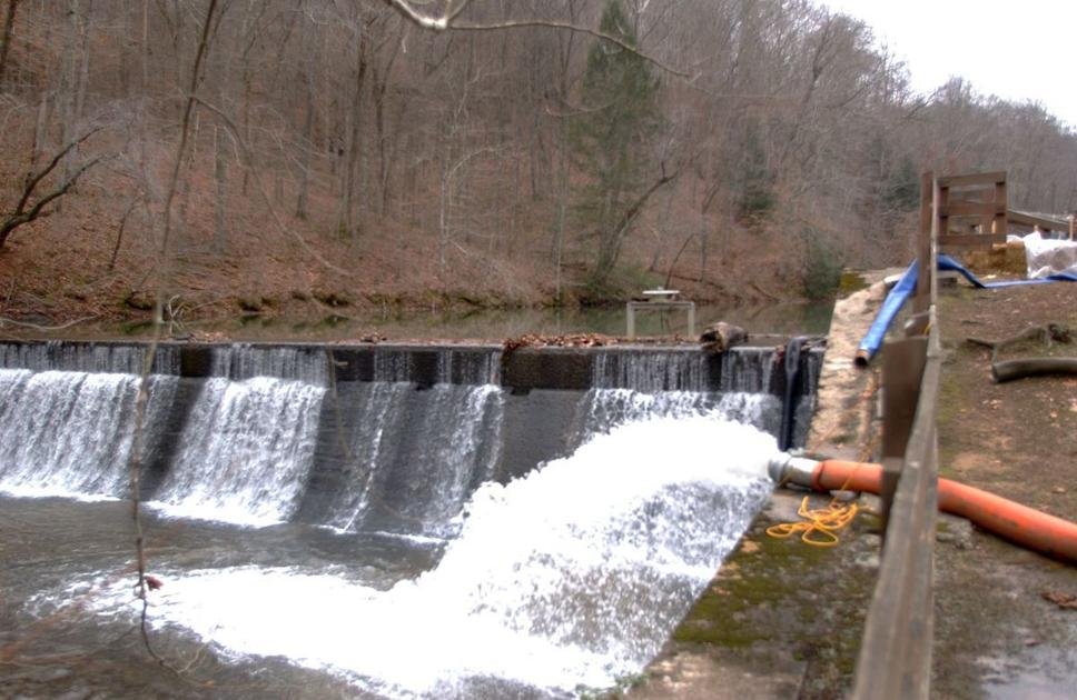 DEP orders mine developer to clear sediment from Kanawha State Forest pond