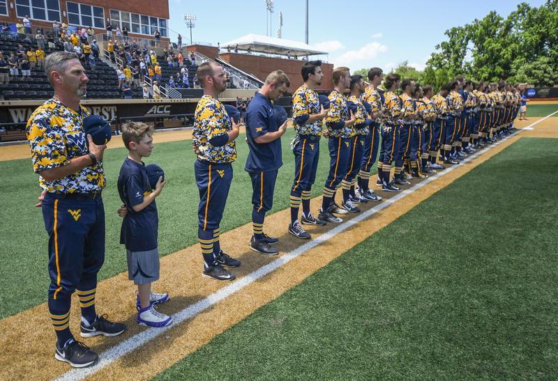NCAA Baseball Regional Wake Forest Walks Off On WVU
