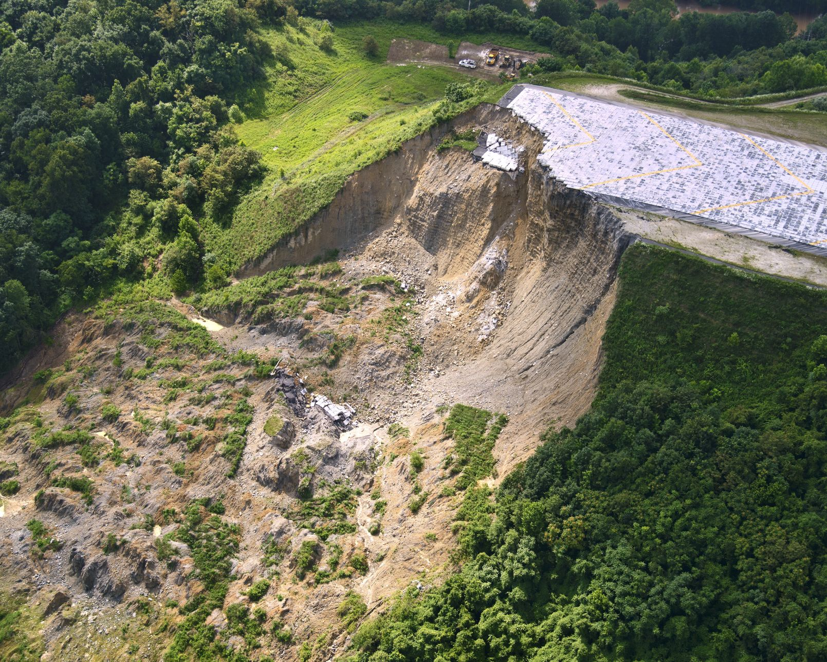Yeager slope failure cost tagged at 18