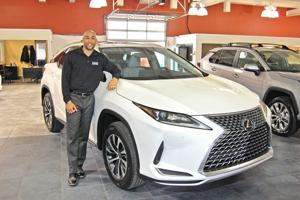 A banner year: Moses Toyota, Moses Lexus tout expansive inventory, professional sales staff.