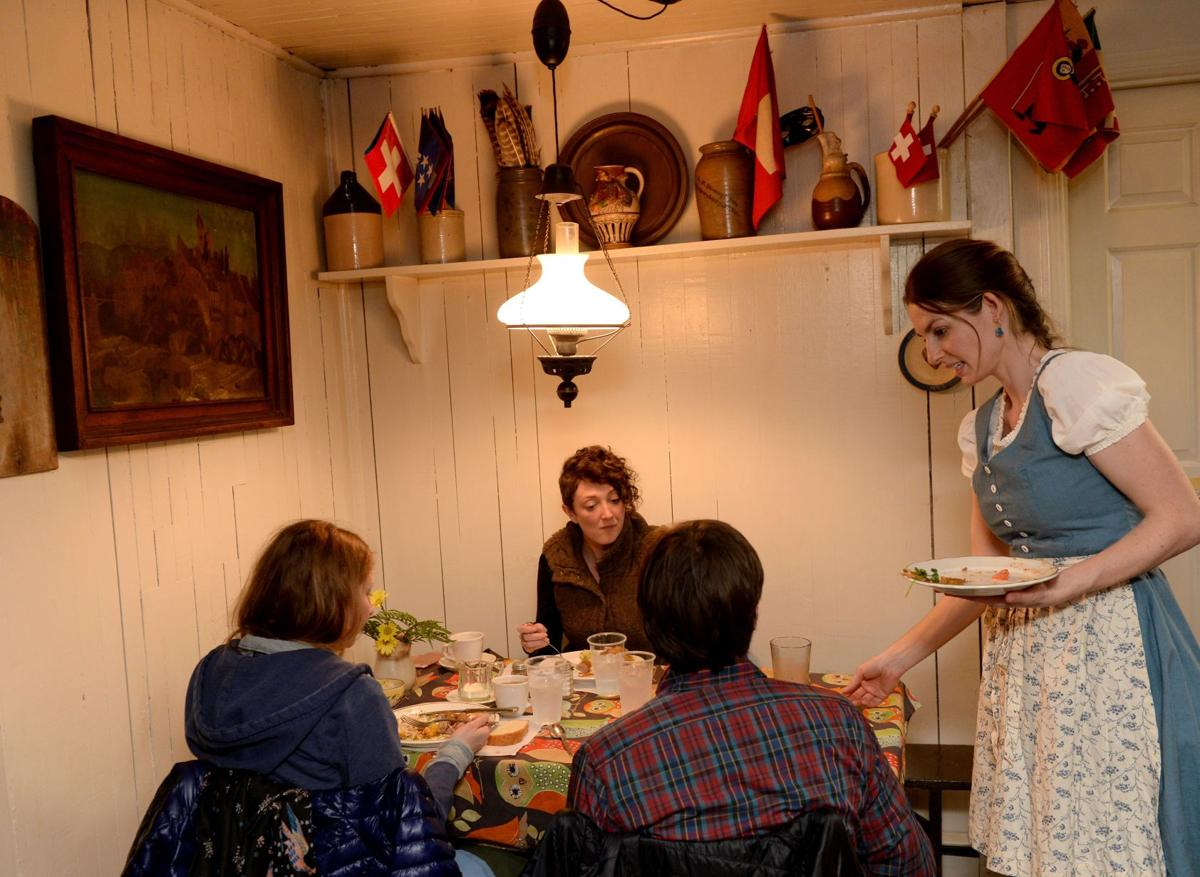 Hutte restaurant at heart of Helvetia tradition