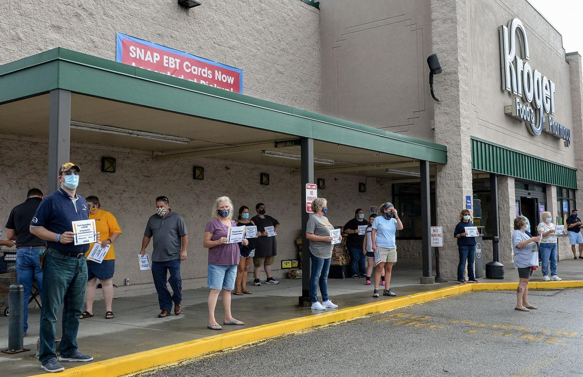 Kroger Employees Seeking To Have Hero Pay Reinstated Business Wvgazettemail Com