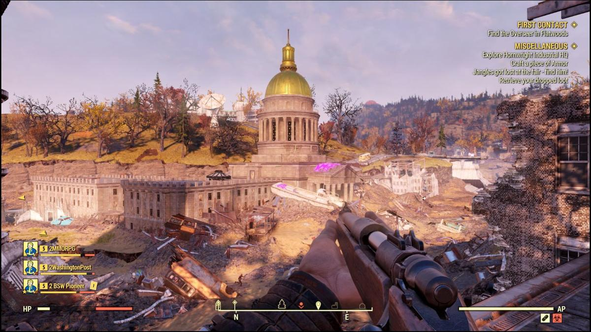 Fallout 76': Exploring the wild and wonderful WV wastelands