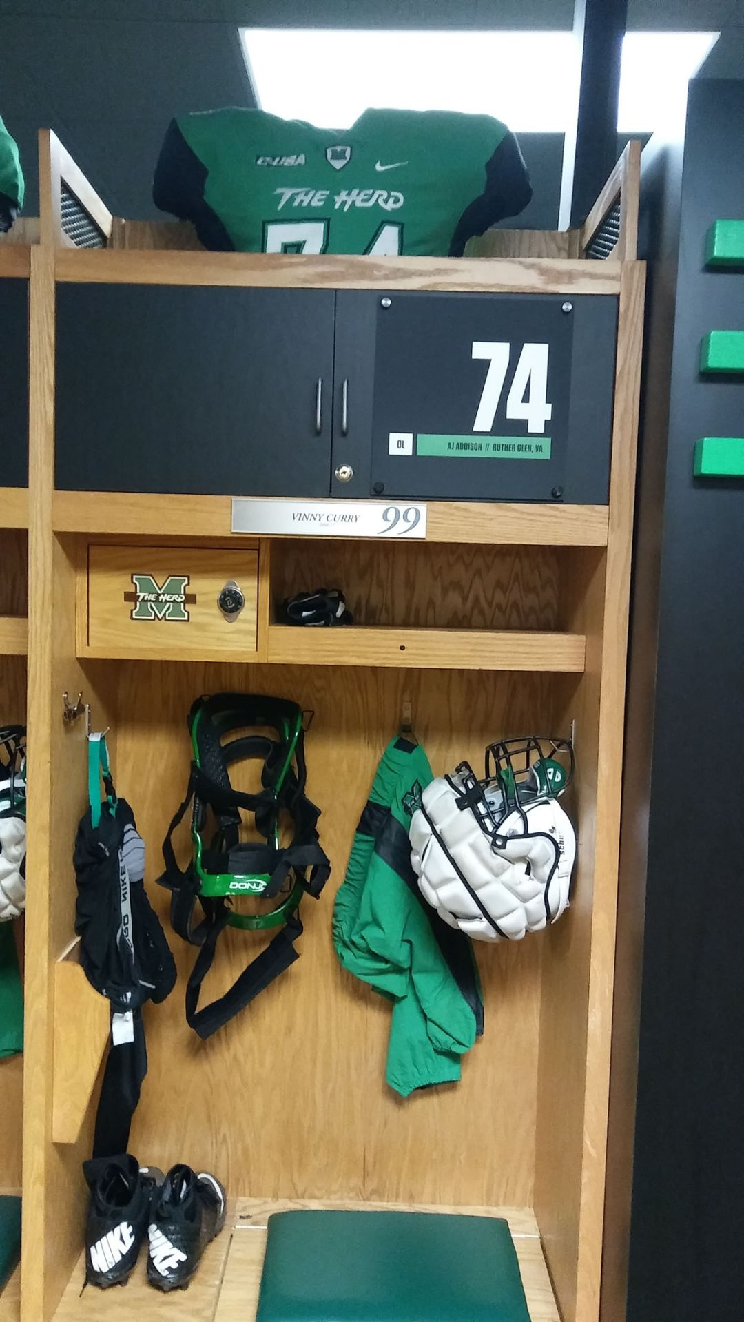 New Marshall Locker Room Opens To Rave Reviews