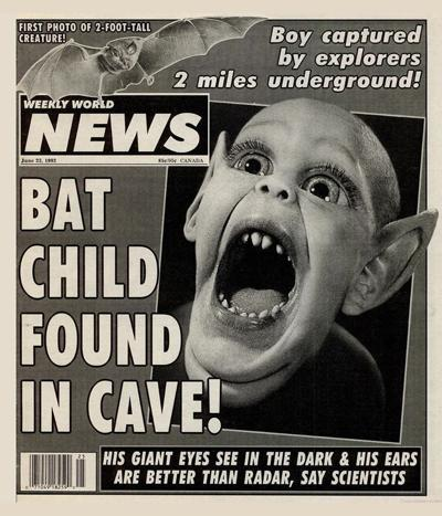 Bat Boy weekly world news