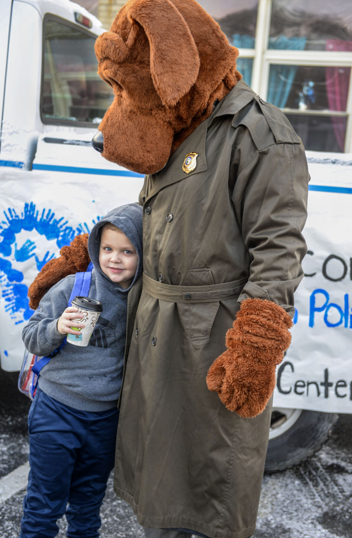 Police Hot Cocoa Giveaway