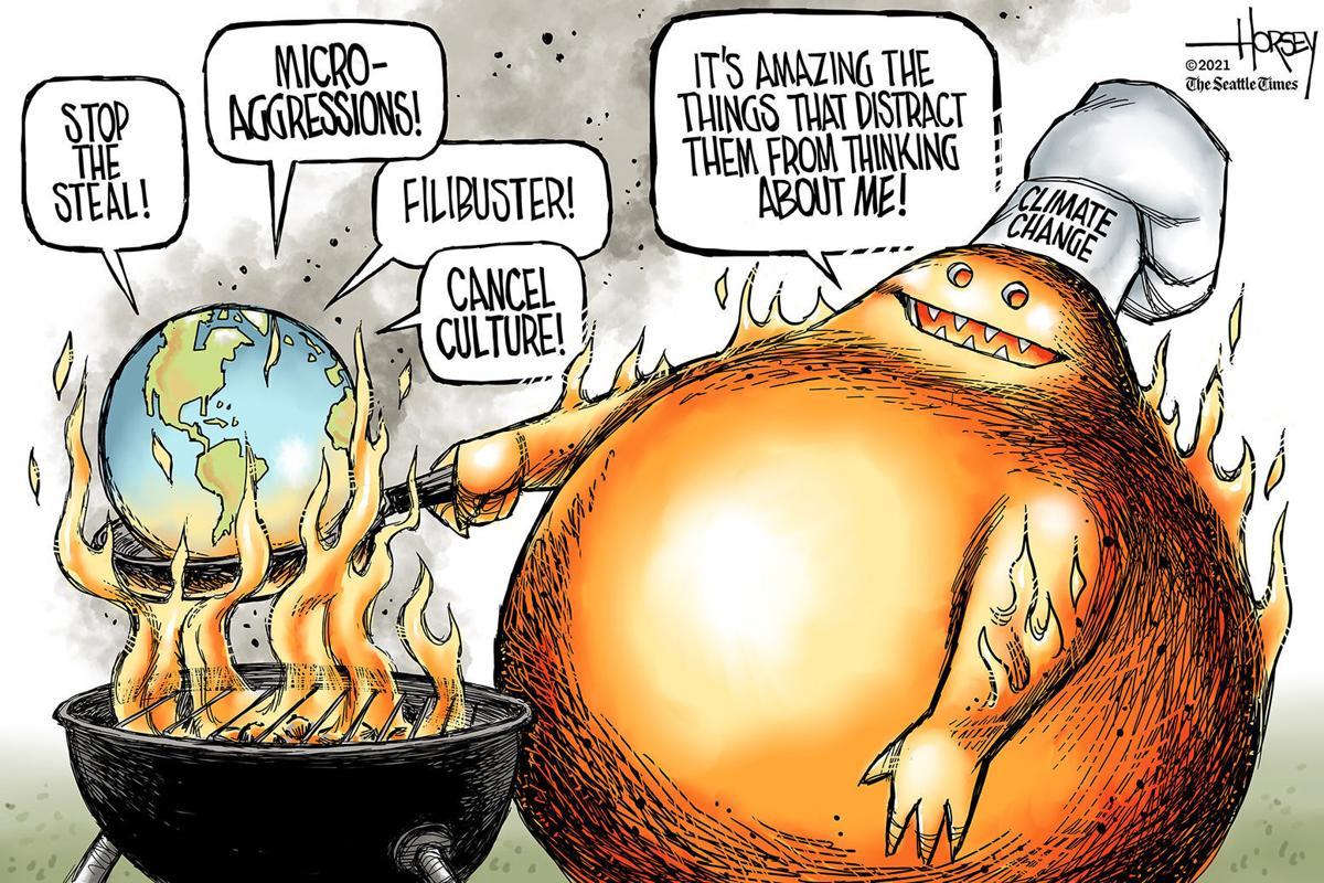 Gazette-Mail cartoon: June 19, 2021