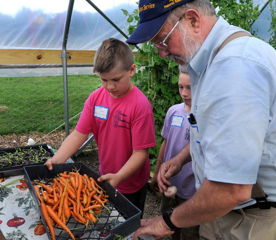 GW Elementary students grow what they eat