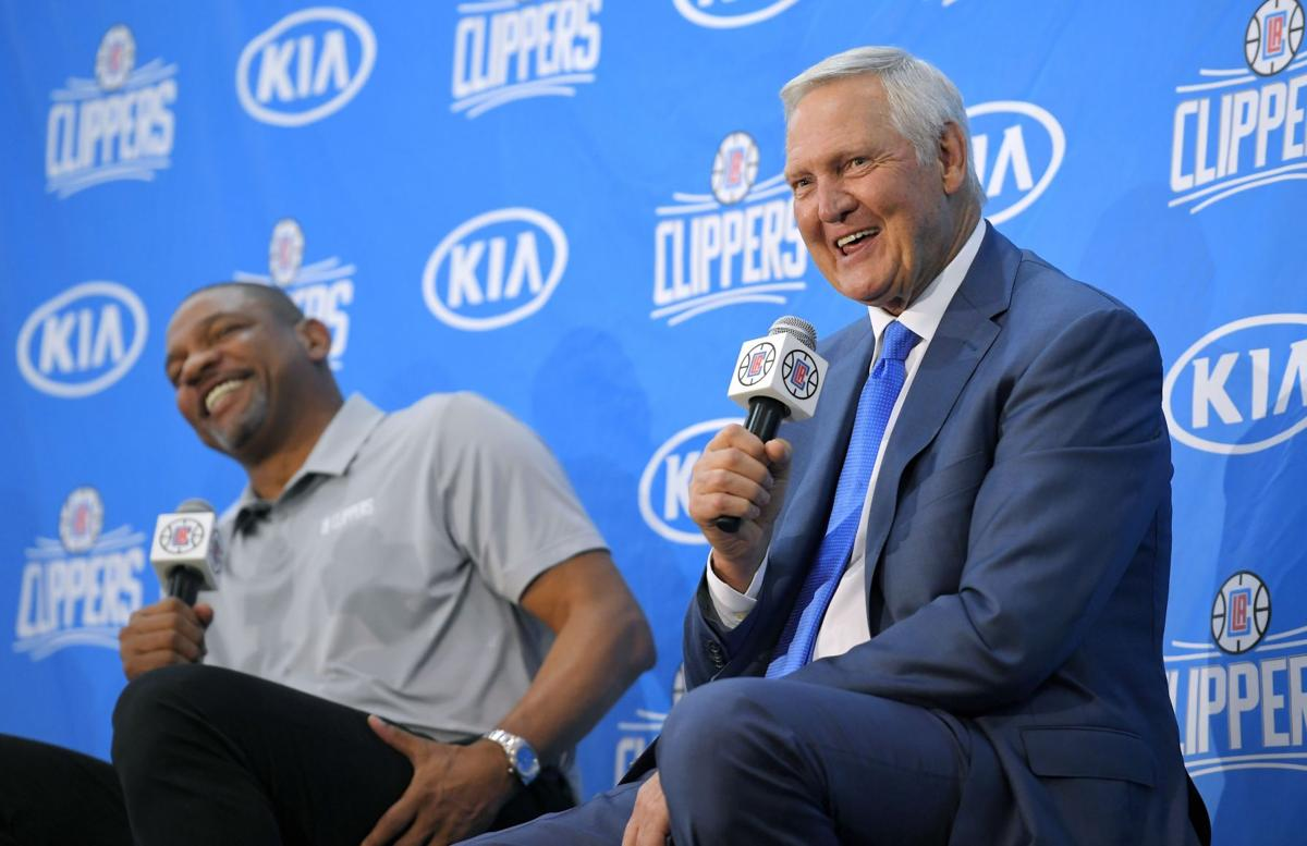 Jerry West joins Clippers front office for final adventure