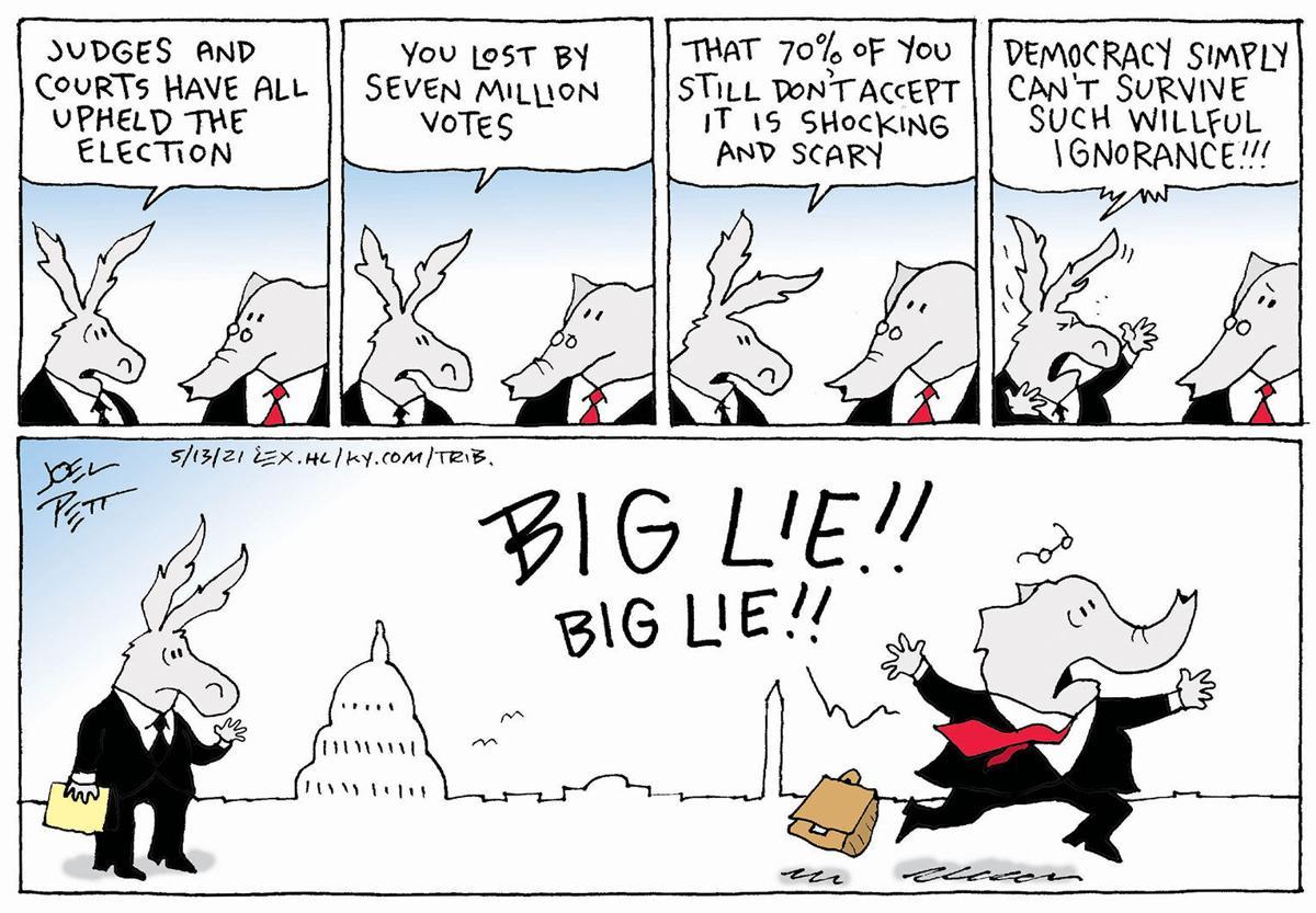 Gazette-Mail cartoon: May 14, 2021