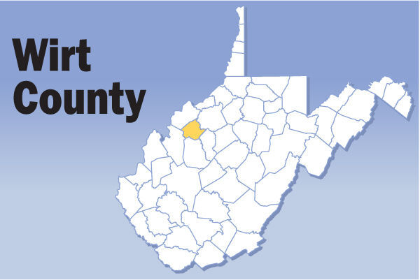 Wirt County Map