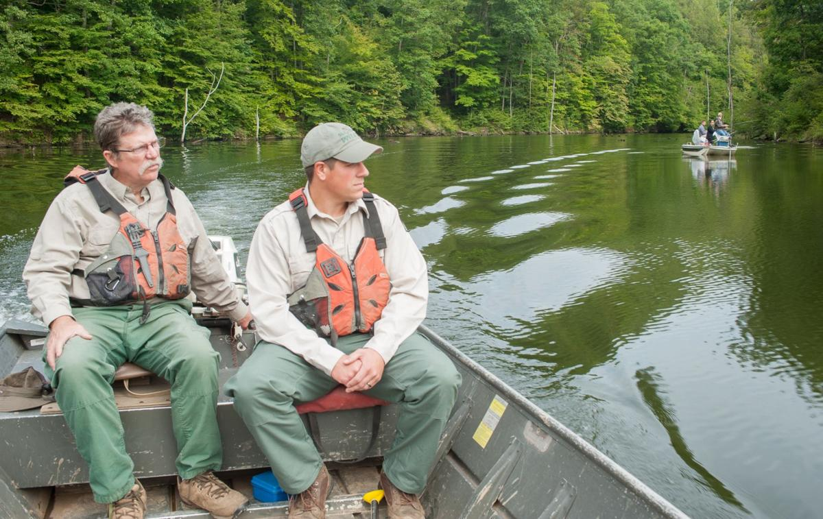 Woodrum Lake's lost fishery has taken a decade to restore ... on