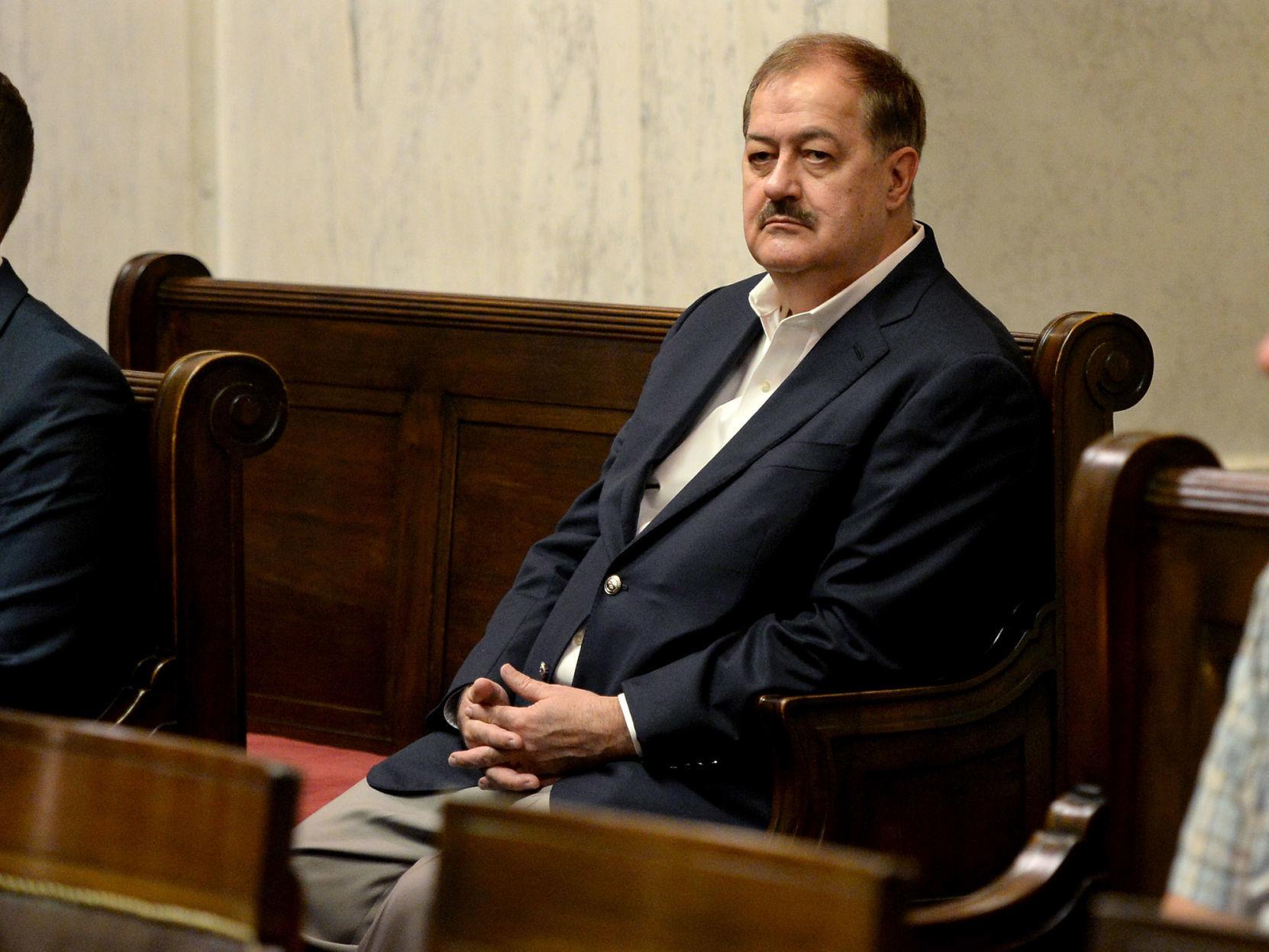 Judge denies Blankenship request to toss conviction