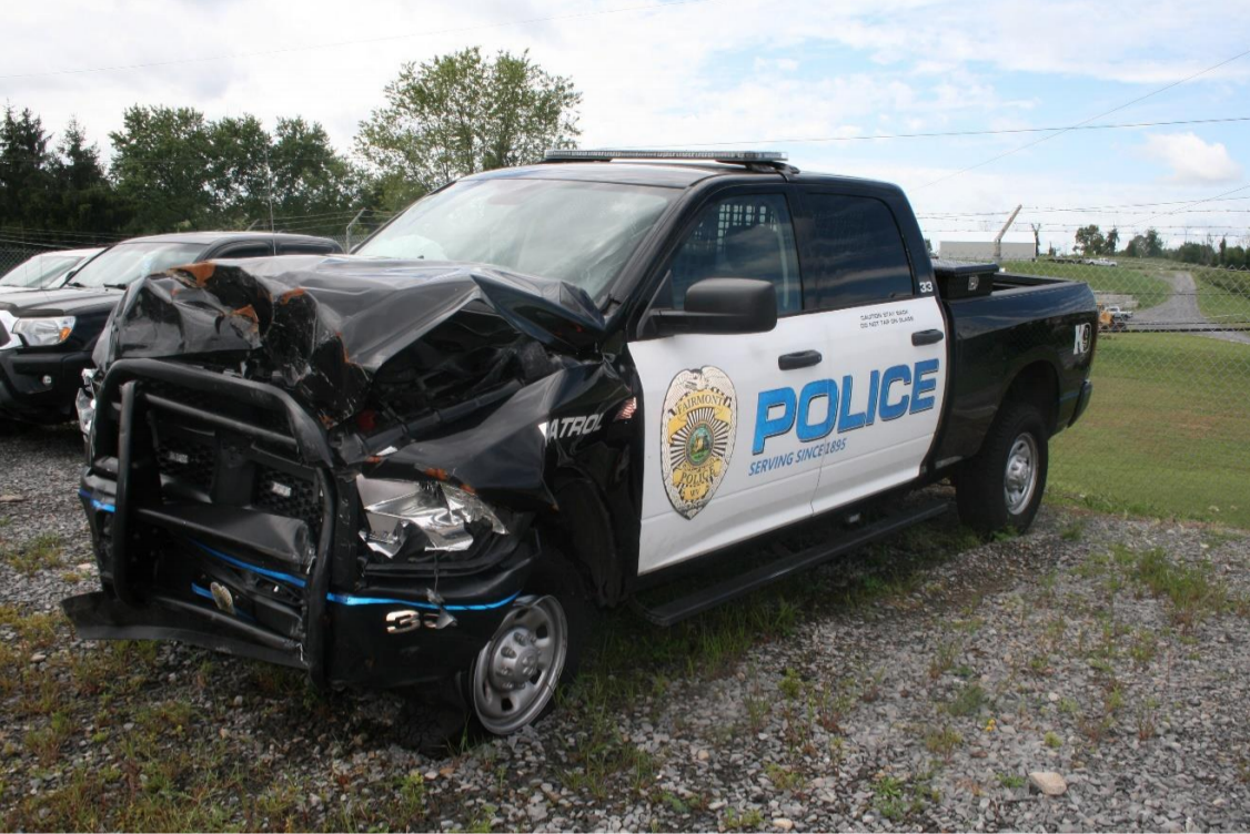 Streyle's police truck