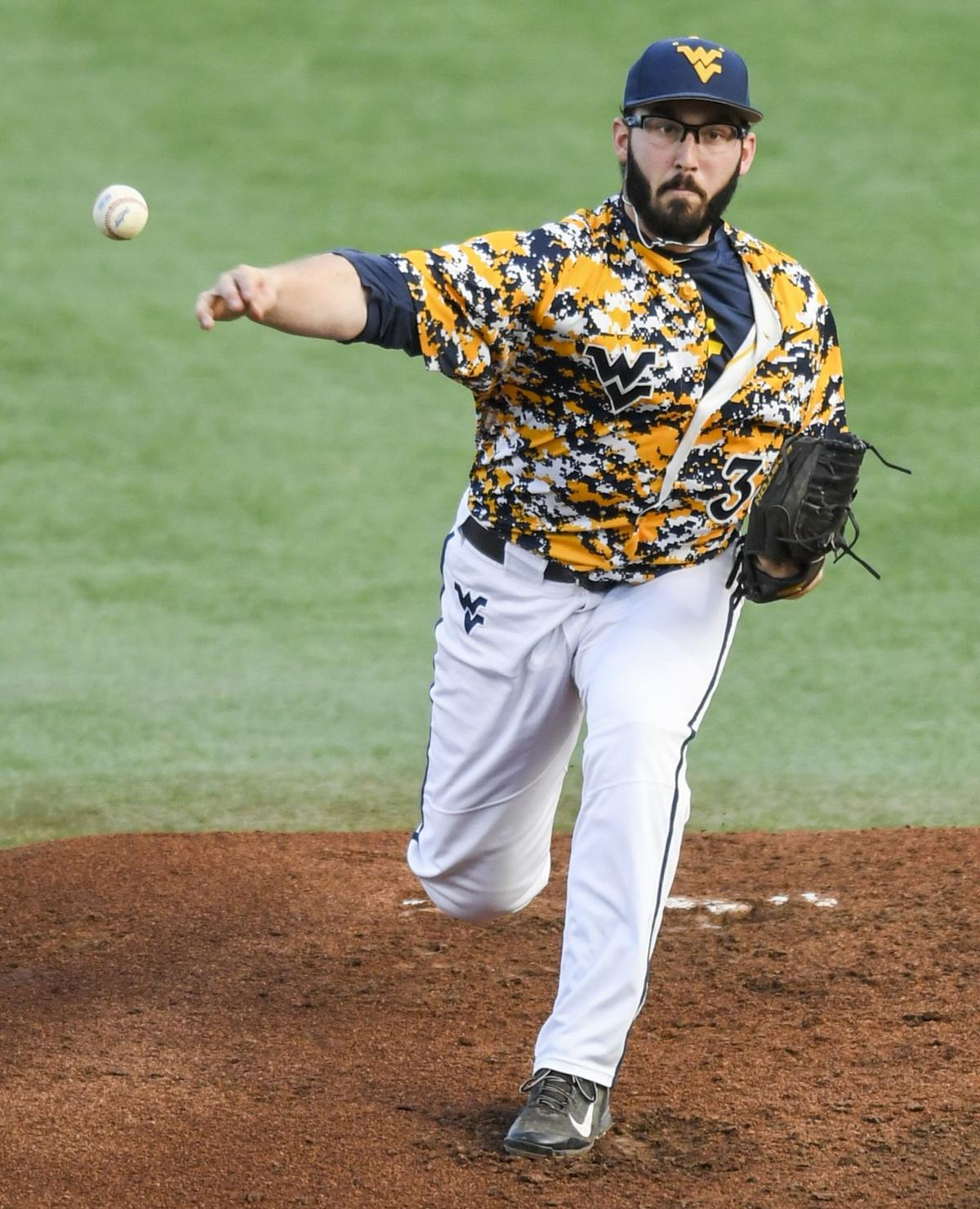 Mike Casazza Pitching Injuries Have Not Derailed WVU Baseball