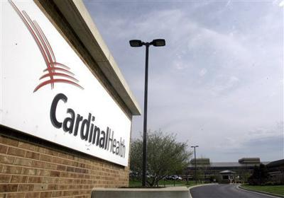 Cardinal Health drug wholesaler file photo