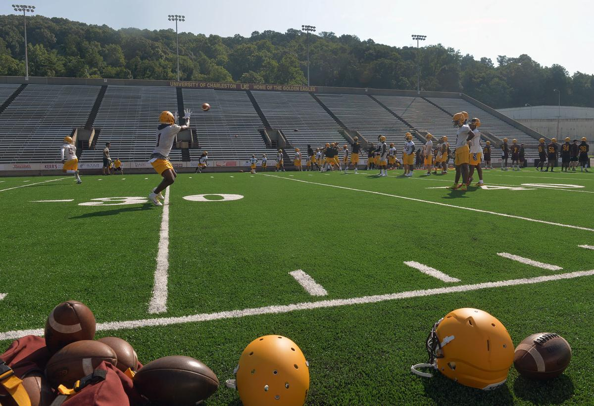 University Of Charleston >> Uc Football Breaks In New Turf Of First Day Of Preseason