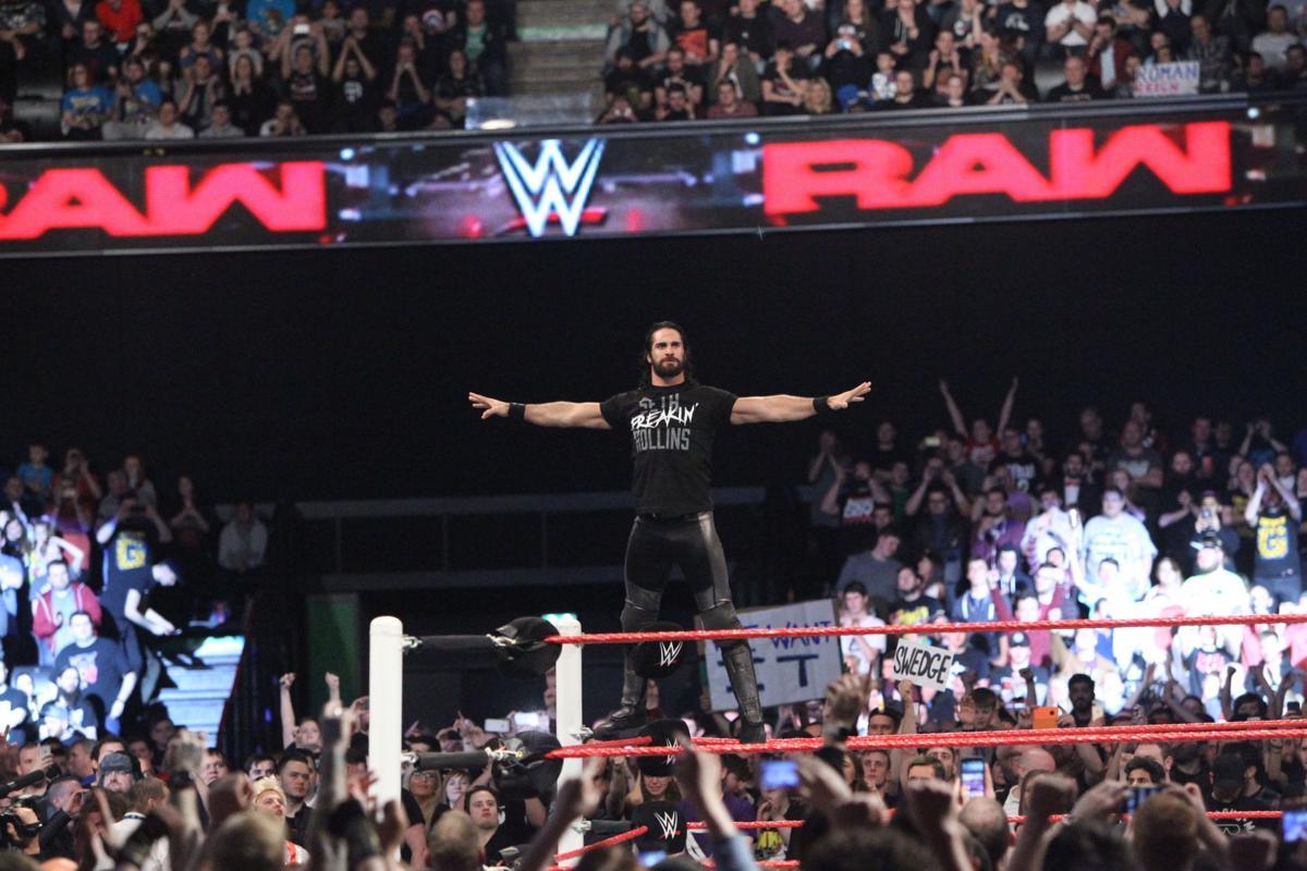 WWE Superstar Seth Rollins