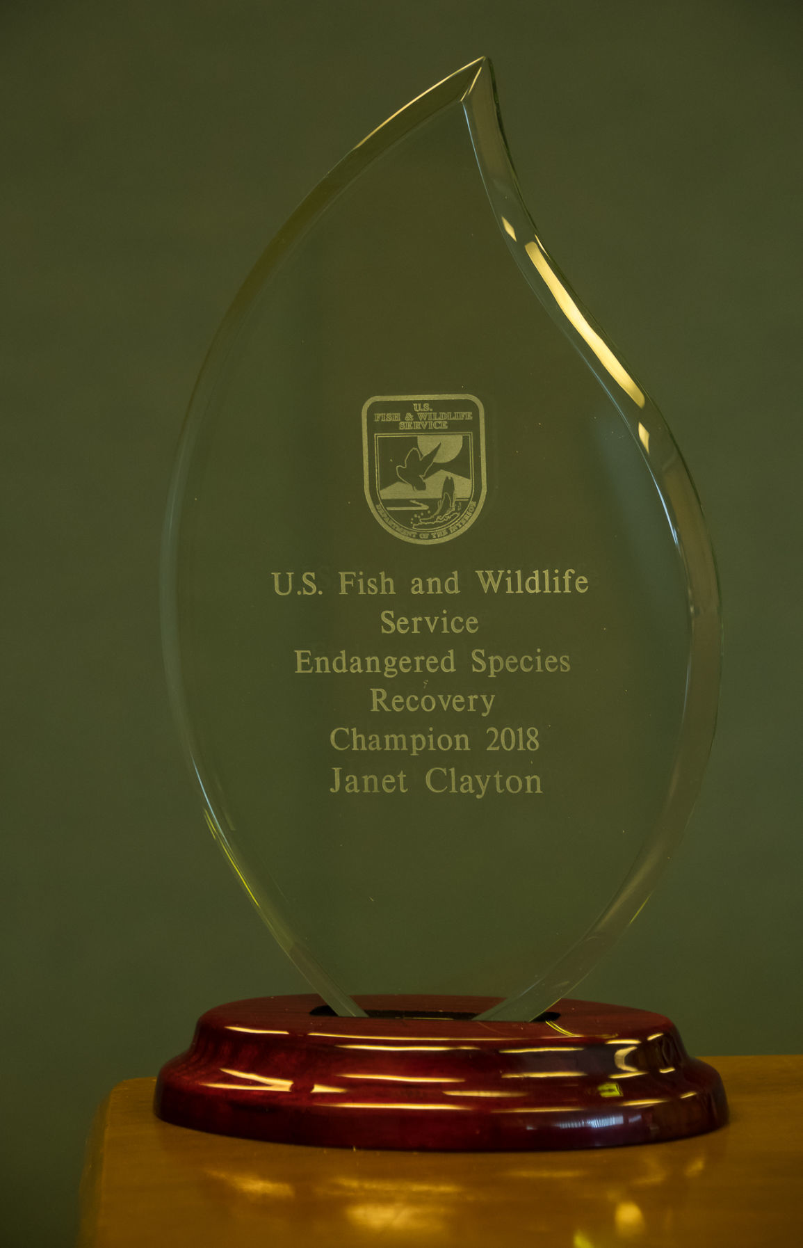 Biologist award
