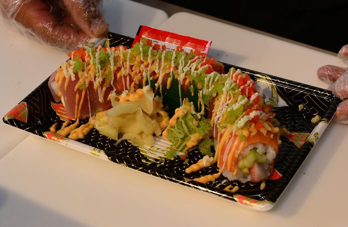 Sushi Garden rolls into Charleston's Capitol Market
