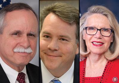 Reps. David McKinley, Alex Mooney, and Carol Miller