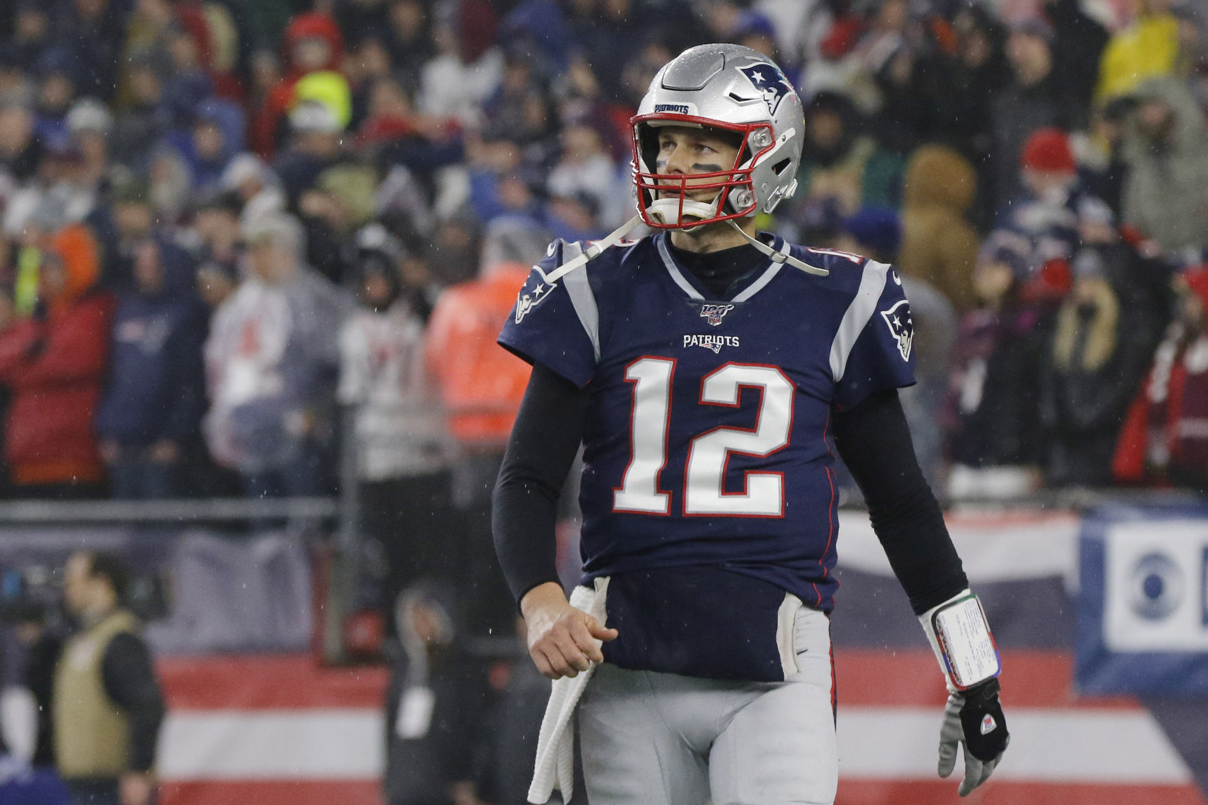 Norman Chad: From Boston to Tampa Bay, Tom Brady still leading a ...