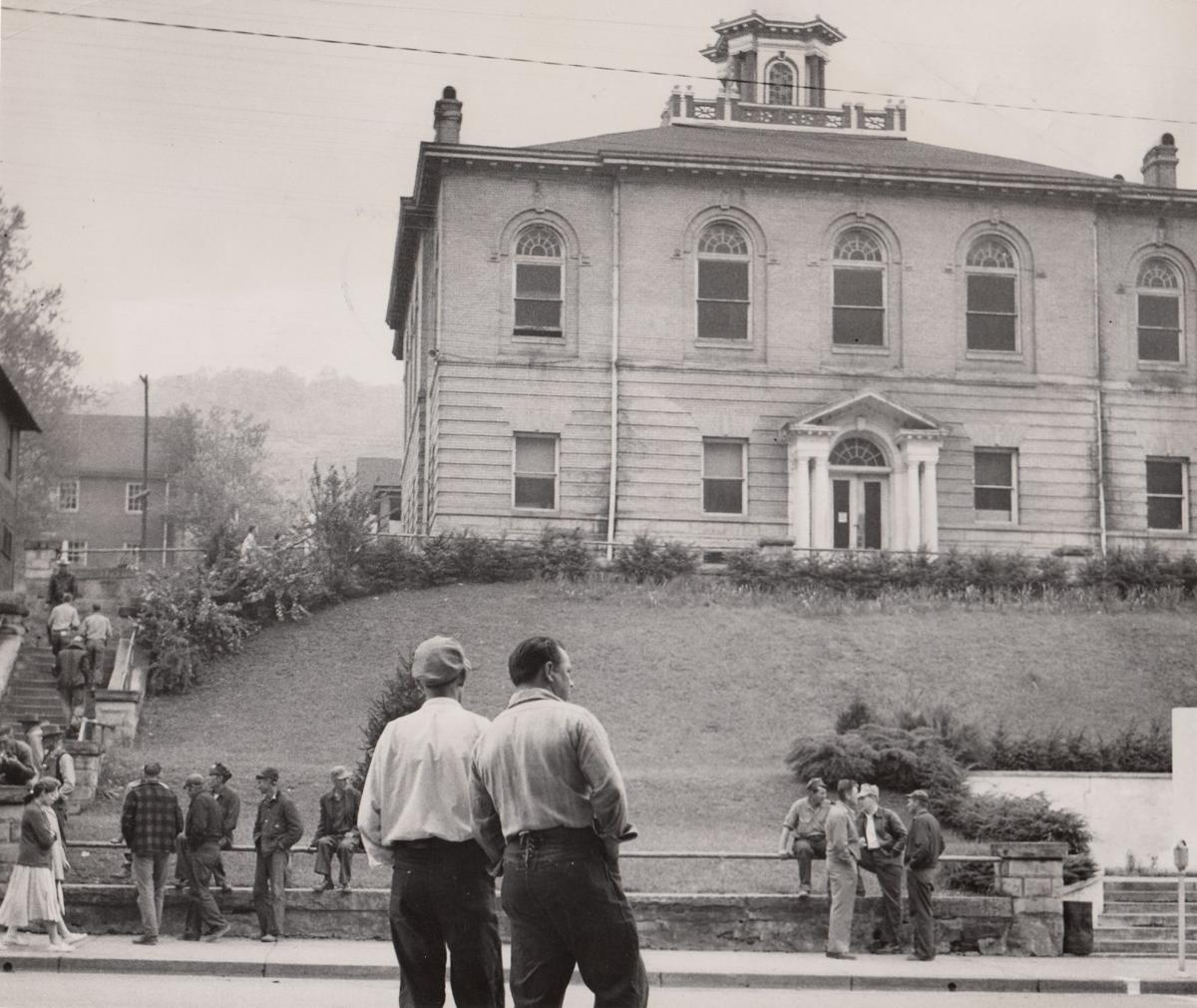 Vintage West Virginia: Old Clay County Courthouse