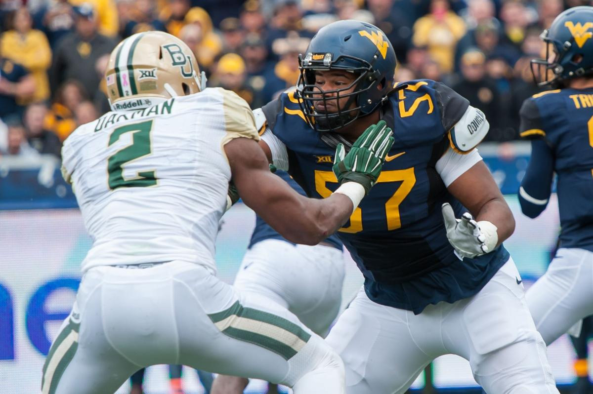 official photos 0bff2 6670e Suspended WVU OL Adam Pankey out against Missouri | Sports ...