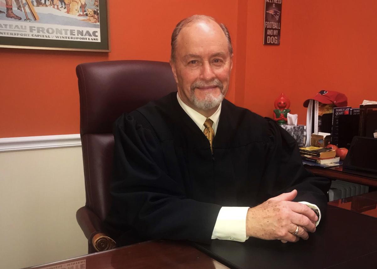 Kanawha Family Court Judge Jim Douglas
