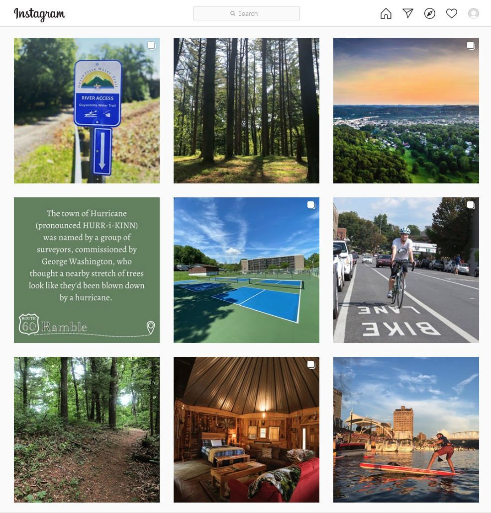 Rt.60 Ramble Instagram page