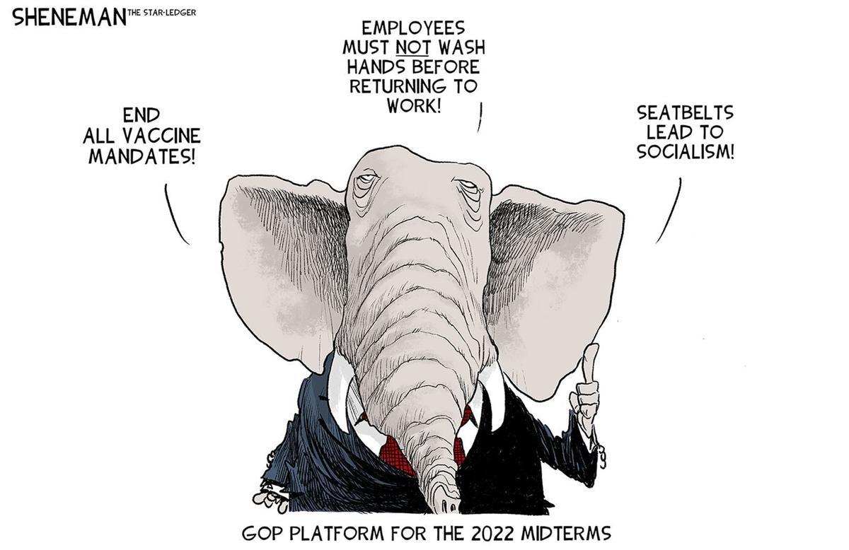 Gazette-Mail cartoon: October 15, 2021