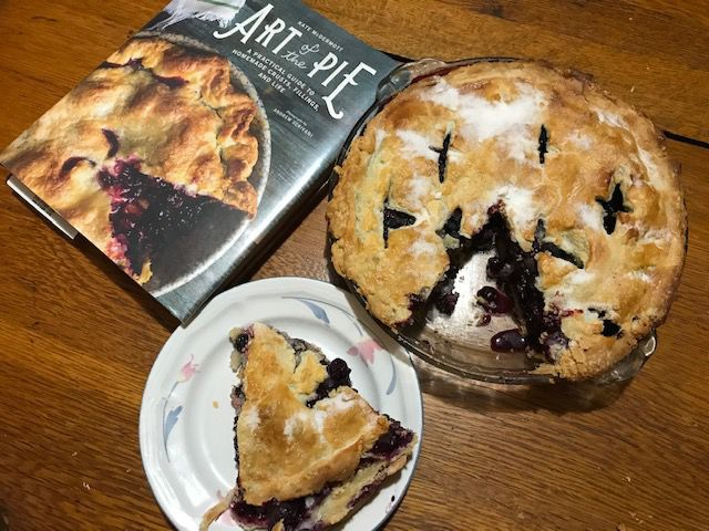 One Month at a Time: Some secrets to a good pie crust