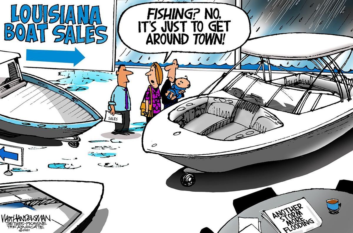Gazette-Mail cartoon: September 16, 2021
