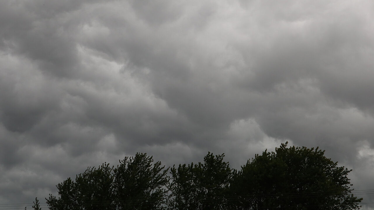 weather photo-clouds over trees