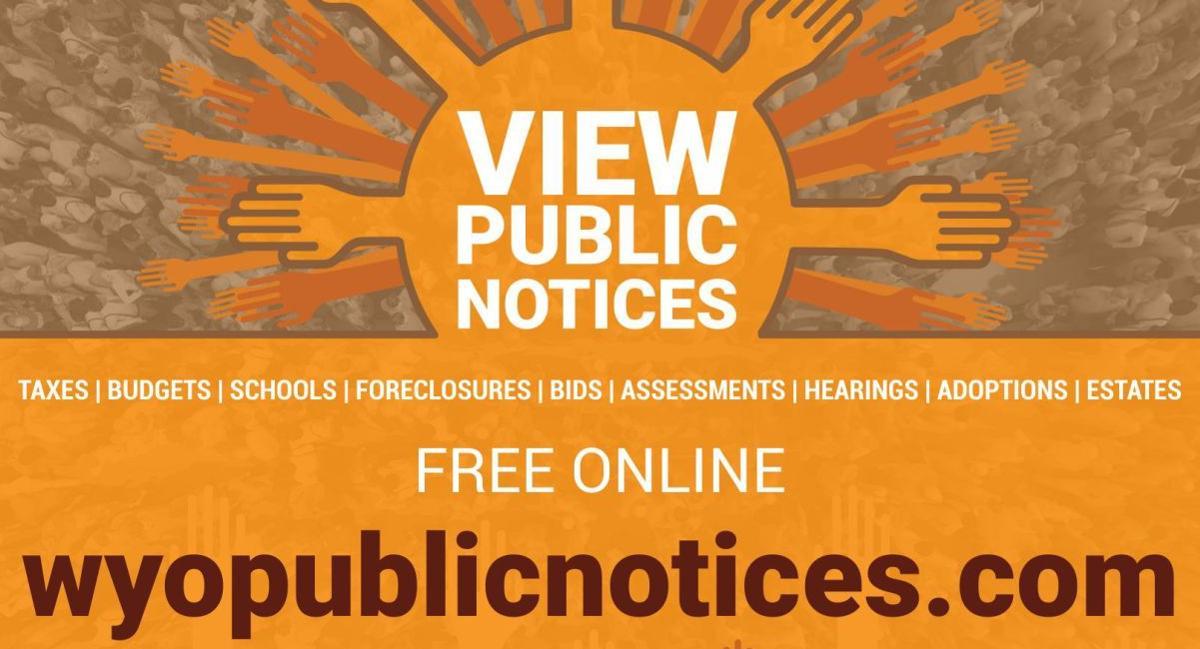 New Public Notice Site