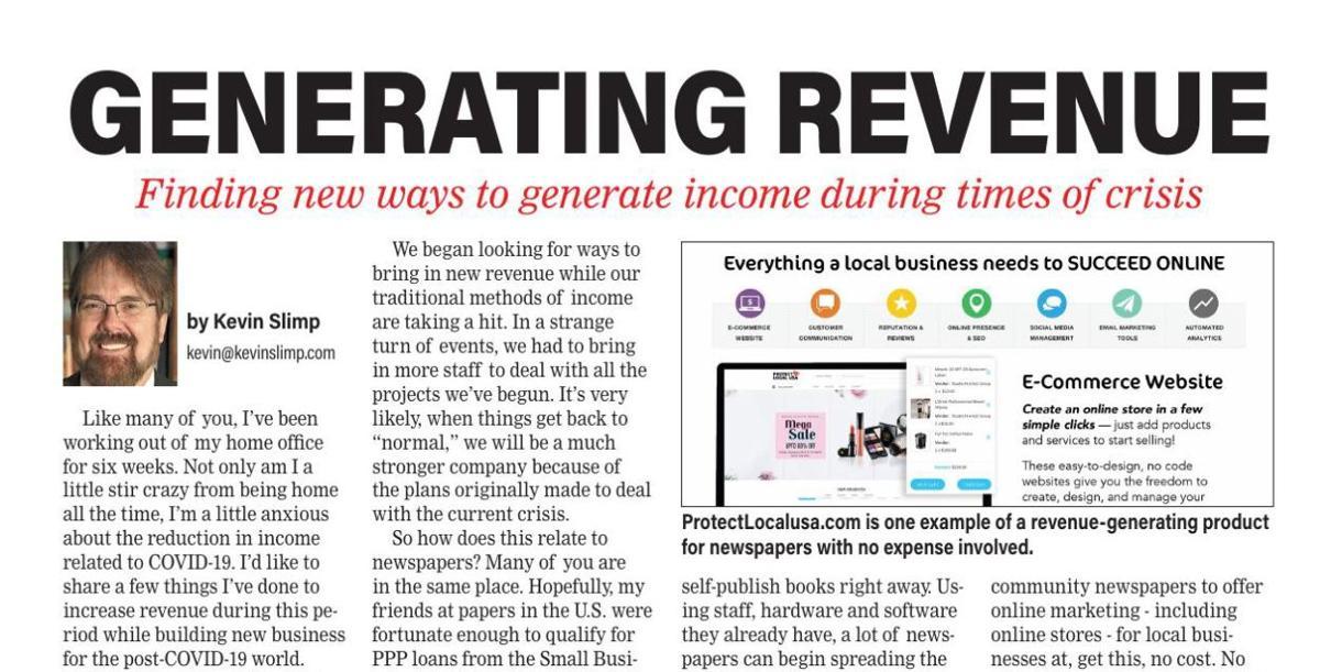 Creating New Revenue Streams