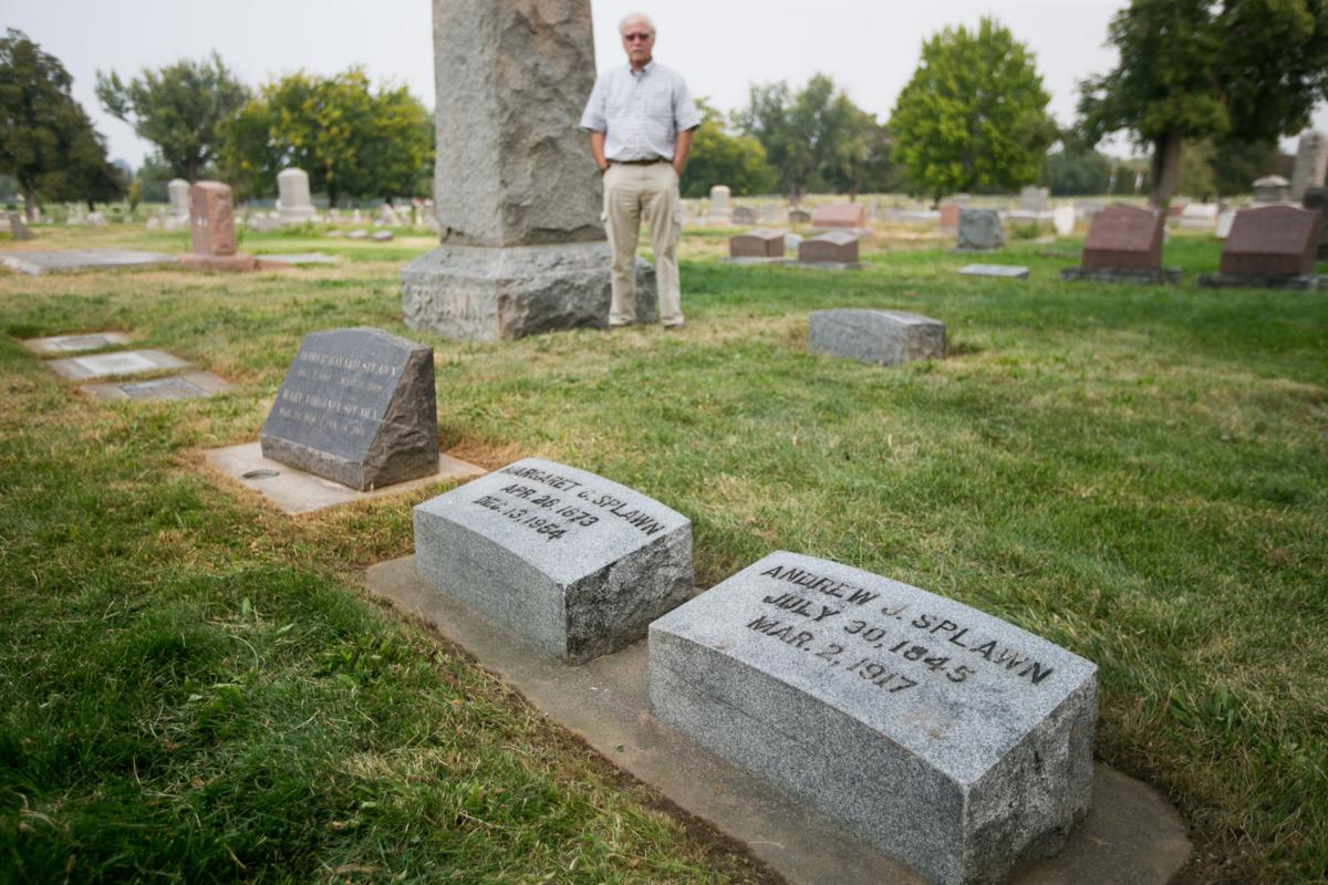 Andrew J. Splawn's gravestone
