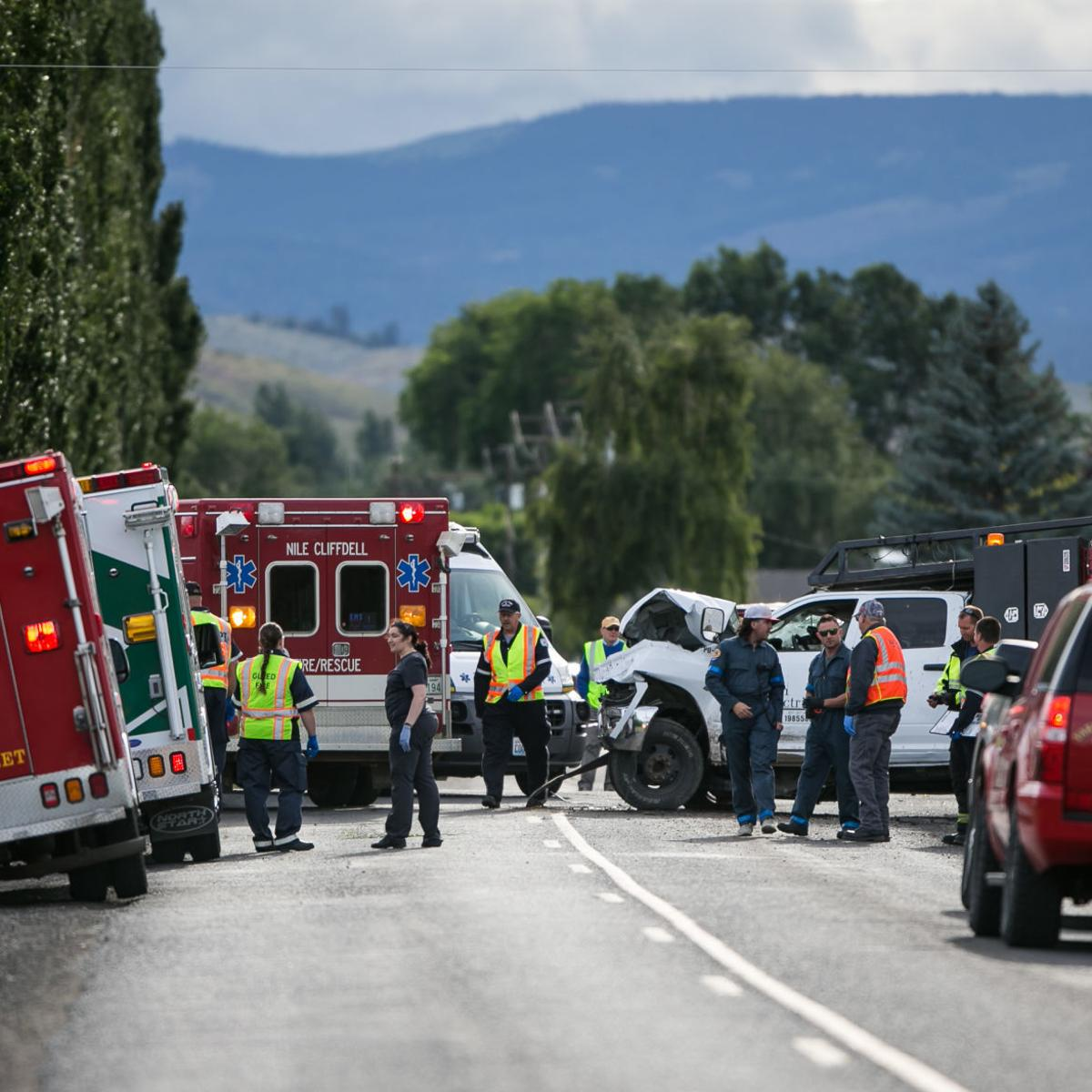 One killed, several injured in crash near Tieton | Local