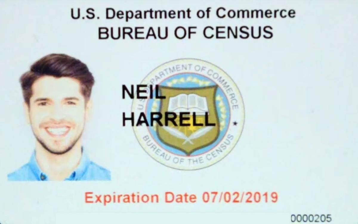 U.S. Census Badge