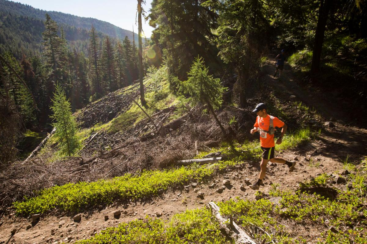 Challenges of grey rock trail run rewarded with stunning for Landscaping rocks yakima