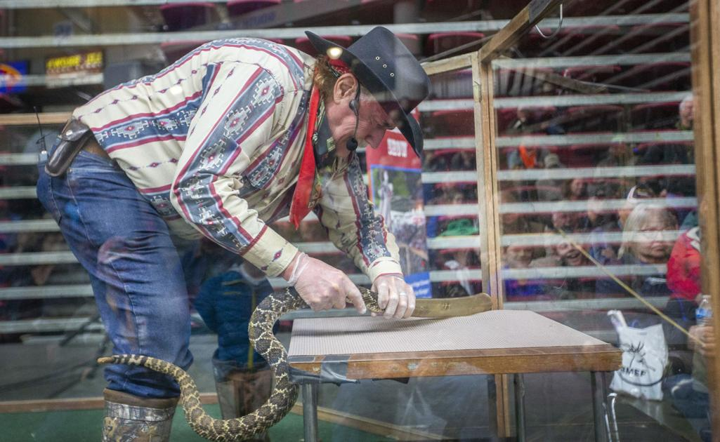 Handled With Care: Dave Richardson's rattlesnake show a site to see